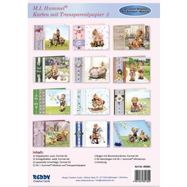 Reddy cards Hummel Kaarten met Transparantpapier 2