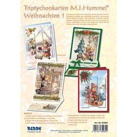 Reddy cards Drieluikkaarten Hummel - Kerst 1