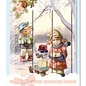 Reddy cards Triptychon Karten Hummel - Weihnachten 1