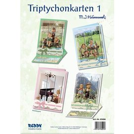Reddy cards Triptychon Karten 1 Hummel
