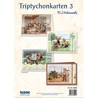 Reddy cards Triptychon Karten 1 Hummel - Copy