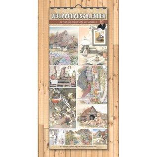 Creatief Art Calendrier de l'anniversaire du personnel Wesenbeek