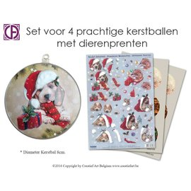 Creatief Art Set boules Animaux
