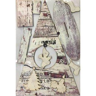 Creatief Art Christbaumschmuck Holz 02