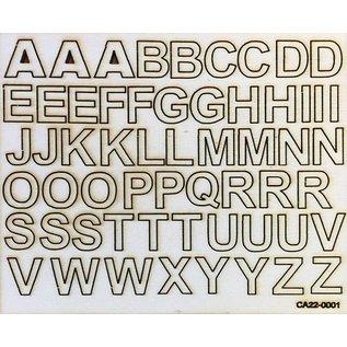 Creatief Art Buchstaben aus Holz