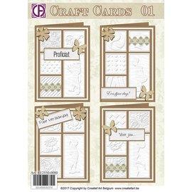 Creatief Art Fertigkeiten Karten 01