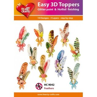 Hearty Crafts 3D-topper HC9042