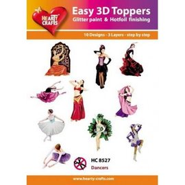 Hearty Crafts 3D-topper HC8527