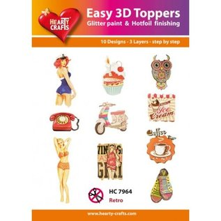 Hearty Crafts 3D-topper HC7964