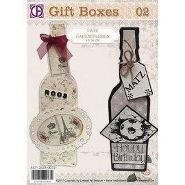 Creatief Art 02 coffrets cadeaux - Bouteilles cadeaux