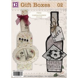 Creatief Art 02 Geschenkboxen - Geschenkflaschen