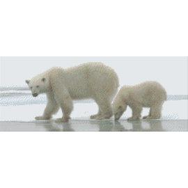 Pixel Hobby PixelHobby Eisbären - 8 Blatt
