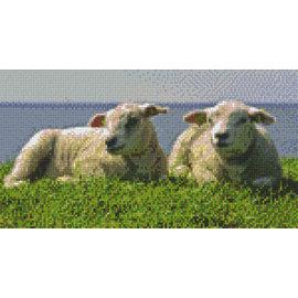 Pixel Hobby PixelHobby moutons - 6 fiches