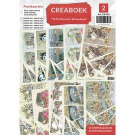 Creatief Art Creaboek 02 - Puntkaarten