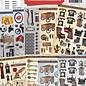 Creatief Art Creaboek 03 - Doordrukvellen mannenkaarten