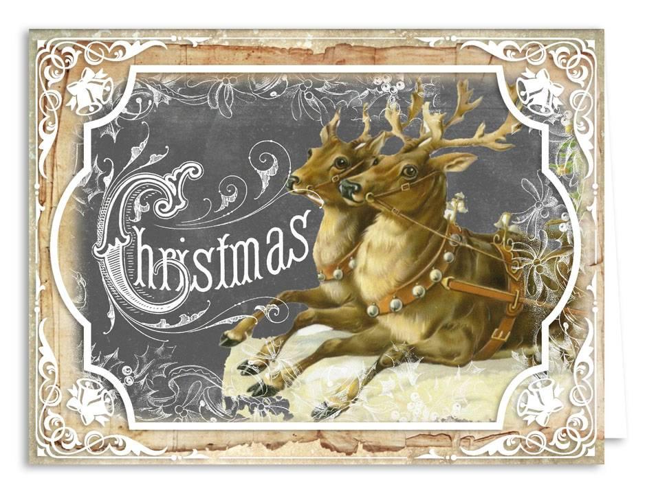 Nostalgische weihnachtskarten my blog - Aldi weihnachtskarten ...