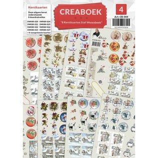 Creatief Art Creaboek 04 - Kerstkaarten