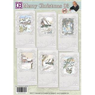 Creatief Art Merry Christmas 03