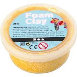 Creativ Company foam clay geel
