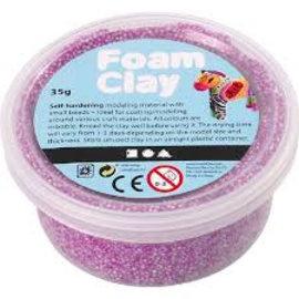 Creativ Company argile mousse néon violet