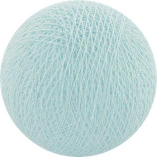 Cotton Balls Cotton Ball Licht Aqua