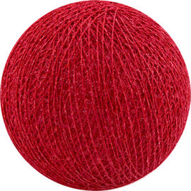 Cotton Balls Boule de coton rouge