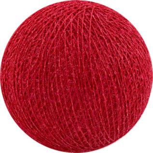 Cotton Balls Boule de coton rouge