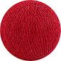 Cotton Balls Wattebausch Red