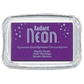 Nellie Snellen Purple - Neon Radiant Stamp Encre