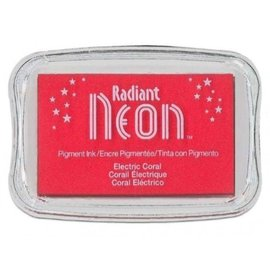 Nellie Snellen Rouge-Rose - Neon Radiant Stamp Encre