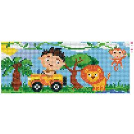 Pixel Hobby Jungle - 2 plaques