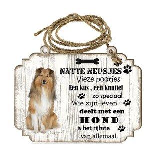 Hondenbordje: Shetland Scheepdog(Sheltie)