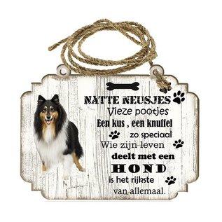 Hondenbordje: Schotse Herdershond