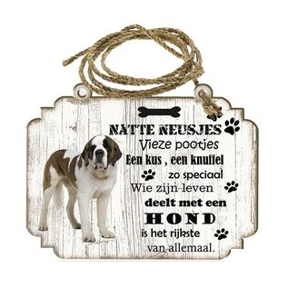 Hondenbordje: Sint Bernard