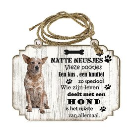 Hondenbordje: Australian Cattle Dog