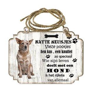 Hondenbordje: Australian Cattle Dog
