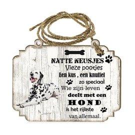Hondenbordje: Dalmatiër