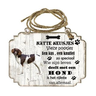 Hondenbordje: heidewachter