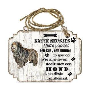Hondenbordje: Bergamasco