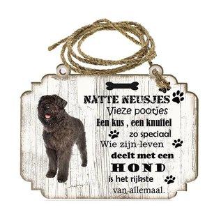 Hondenbordje: Bouvier des Flanders