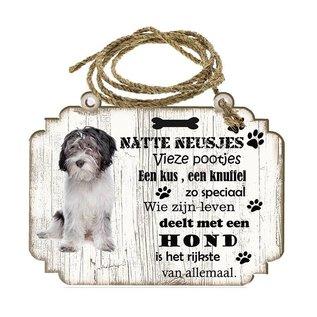 Hondenbordje: Nederlandse Schapendoes
