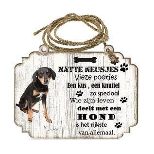 Hondenbordje: Appenzeller Sennerhond