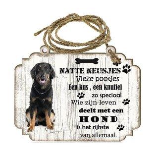 Hondenbordje: Hovawart