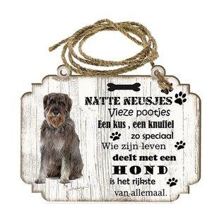 Hondenbordje: Riesenschnauzer