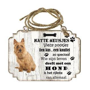 Hondenbordje: Australische Terier