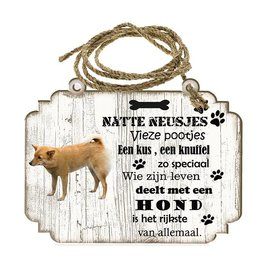 Hondenbordje: Finse Spits