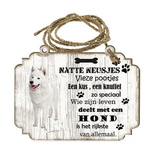 Hondenbordje: Samojeet