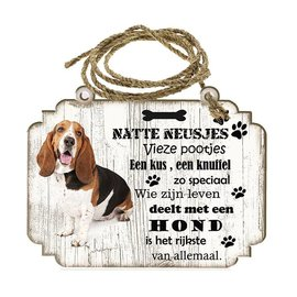 Hondenbordje: Basset Artésien Normand