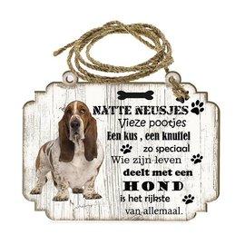 Hondenbordje: Basset Hound