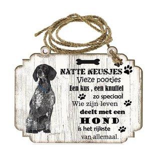 Hondenbordje: Braque d Auvergne